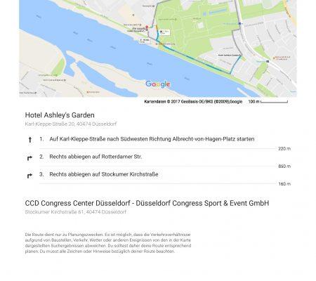 CCD Congress Düsseldorf - Hotel